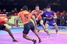 Pro Kabaddi 2019: Naveen's Record-equalling Show Helps Dabang Delhi to Big Win Over U Mumba