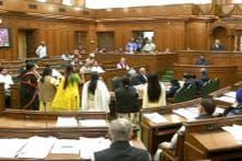Delhi Assembly Speaker suspends BJP's OP Sharma over remark on AAP's Alka Lamba