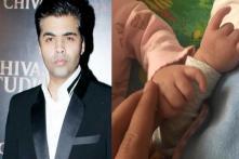 Karan Johar Shares Adorable Photo of His Twins Roohi And Yash