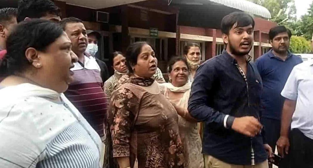 Marriage death in suspicious circumstances, parents accuse in-laws, demand justice