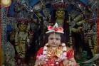 দর্শকশূন্য বেলুড় মঠে চলছে ঐতিহ্যবাহী কুমারী পুজো, ৬ বছরের ছোট্ট কুমারী 'উমা'কে দেখুন...