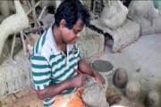 Durga puja 2021: পুজোর আগে মন খারাপ রায়দিঘির মৃৎশিল্পীদের, লোকসান বয়ে নিয়েই চলছে শিল্পকে বাঁচিয়ে রাখার চেষ্টা