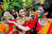 শান্তিনিকেতনে জমজমাট 'বসন্ত উৎসব'
