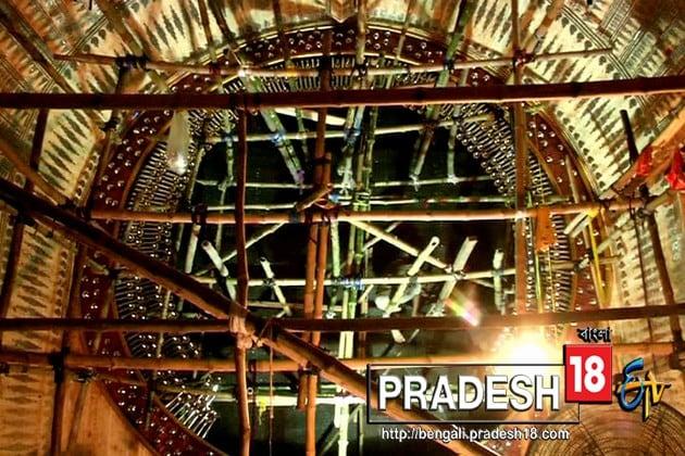 খিদিরপুর ২৫ পল্লীর পুজোর থিম 'সৃষ্টি সুখ'