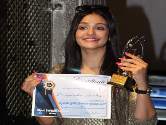 Most Stylish Actress (Film)- Priyanka Sarkar