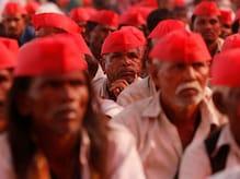 In Pics: মুম্বইয়ের আজাদ ময়দানে পৌঁছেছে অল ইন্ডিয়া কিষাণ সভার প্রতিবাদ