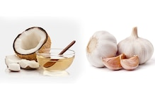 Raw garlic and coconut oil serves as antibiotic