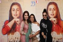 Hichki screening: Rekha, Madhuri Dixit in tears, Boney Kapoor attends with daughter Khushi.
