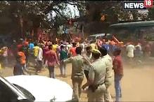 Video: রণক্ষেত্র কান্দি !  রামনবমীর বিসর্জনে অস্ত্র মিছিলে বাধা পুলিশের, থানা লক্ষ্য করে ইটবৃষ্টি