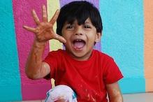 ৪ বছরের এই ভারতীয় শিশুর আঁকা ছবির দাম উঠল লক্ষাধিক টাকা