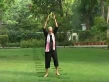বিরাট কোহলির ফিটনেস চ্য়ালেঞ্জের জবাব দিলেন প্রধানমন্ত্রী