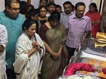 IN PICS: করুণানিধিকে শেষ শ্রদ্ধা জানালেন মমতা, মোদি, রজনীকান্ত