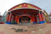 Durga Puja 360°: সল্টলেক বিজে  ব্লকে হিন্দি-চিনি ভাই ভাই, এক ক্লিকে দেখুন পুরো মণ্ডপ