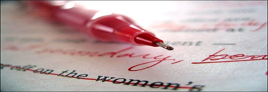 লাল কালির কলম- যাঁকে উপহারটি দিচ্ছেন তার অর্থ ও সম্মান দুইই হানি হবে।Photo Source: Collected