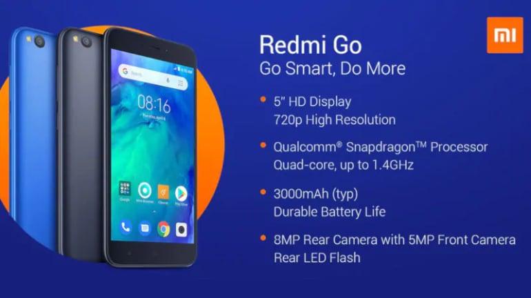 Redmi Go এর দাম হবে প্রায় 6,500 টাকা। (Photo collected)