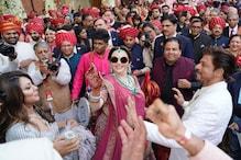 #AkashShlokaWedding: গৌরি খানের সঙ্গে নেচে উঠলেন নীতা আম্বানি, দেখুন ভিডিও