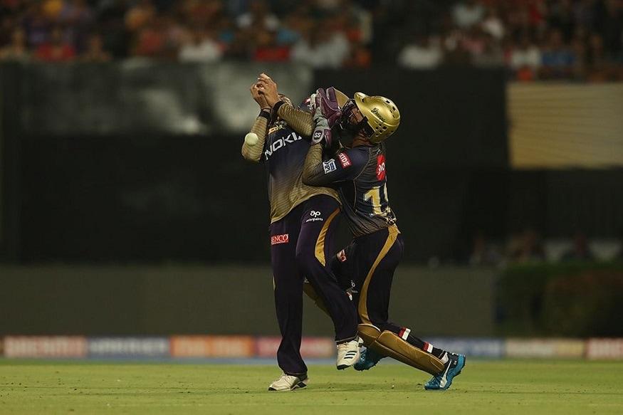 কেকেআরের ':' রানের টার্গেট তাড়া করতে নেমে তখন ব্যাটের রানের ফুলঝুরি ছোটাচ্ছিলেন তখন ঘটে যায় দুর্ঘটনা ৷ Photo- BCCI/IPL