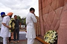 জালিয়ানওয়ালাবাগ হত্যাকাণ্ডের ১০০ বছর, শহিদদের শ্রদ্ধা জানালেন রাহুল