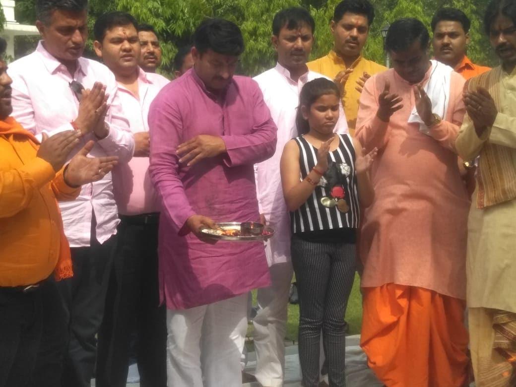 উত্তর-পূর্ব দিল্লিতে এগিয়ে বিজেপি-র মনোজ তিওয়ারি  (Image: News18)