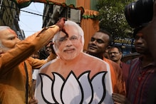 Lok Sabha Election Results 2019 Live: কলকাতায় রাজ্য বিজেপি অফিসের বাইরে আনন্দ উৎসব