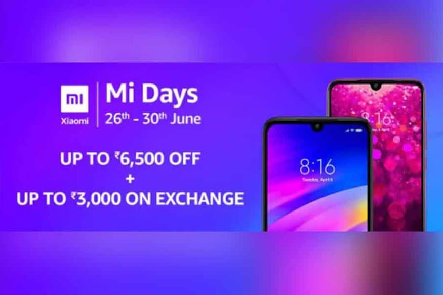ফের নতুন সেল নিয়ে হাজির Xiaomi। Amazon.in আর  Mi.com থেকে Xiaomi-র ফোনে কিনলে পেয়ে যাবেন আকর্ষণীয় ছাড়।  চলছে  Mi Days আর  Mi Super সেল, চলবে  30 জুন পর্যন্ত।