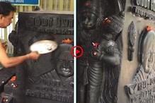 নেত্রীকে শ্রদ্ধা! মন্দিরে দেবতার বিগ্রহের পাশেই বসানো হল নেত্রীর মূর্তি