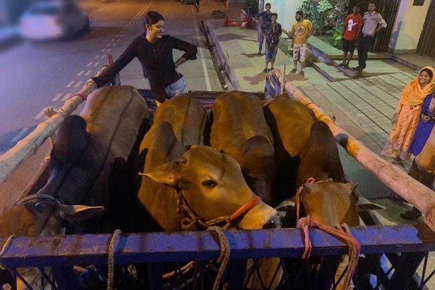 ইদ-আল-আধার ত্যাগের উৎসবে সামিল গোটা বিশ্বের মুসলিম সম্প্রদায়ের মানুষ ৷ Photo Courtesy: Pori Moni/Facebook Page