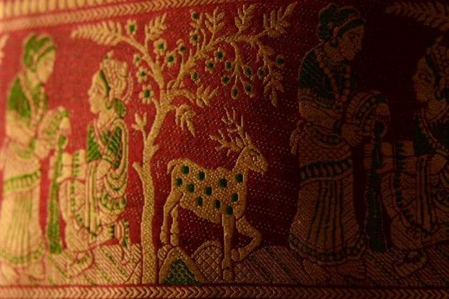 পুজোর আগে বাঁকুড়ার বালুচরী শিল্পীদের ব্যস্ততা তুঙ্গে, শাড়ি যাচ্ছে বিদেশে, ডিজাইনে এসেছে নতুনত্ব