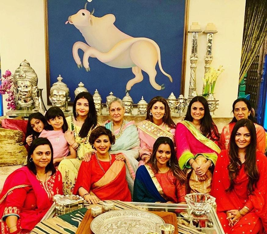 ঐশ্বর্য রাই বচ্চন, জয়া বচ্চন-এর সঙ্গে আরও বলিউড অভিনেত্রীরা