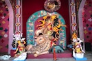Durga Puja 360°: বাবুবাগান সর্বজনীনের পুজো