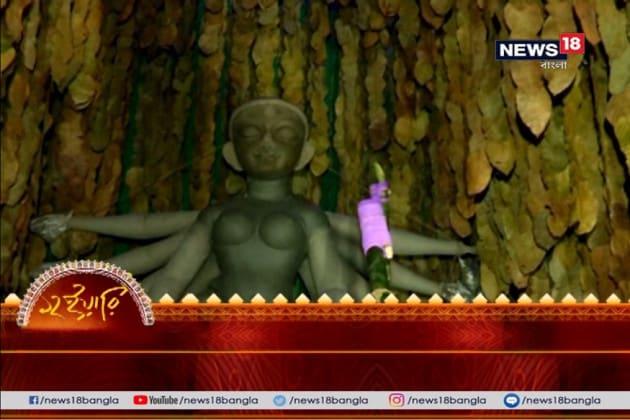 মানিকতলা ১৪ পল্লিতে দেবী 'বনবিবি' রূপে, প্রকৃতি রক্ষার বার্তা থিমে