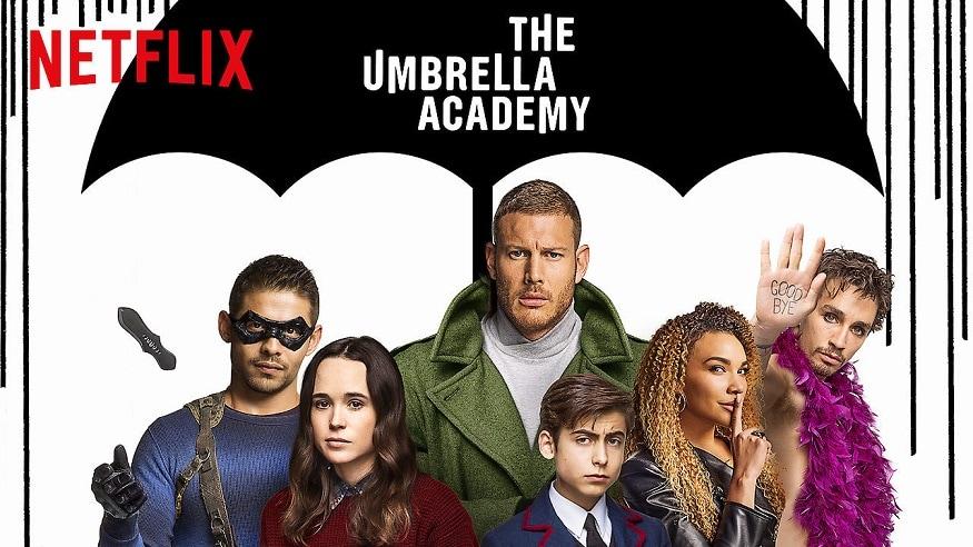 Umbrella Academy - এই সিরিজের প্রথম সিজনটি ভিউ পেয়েছে ৪৫ মিলিয়ন।