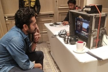 Exclusive images of Parambrata Chattopadhay, Director of the Biopic of s Soumitra Chattopadhay