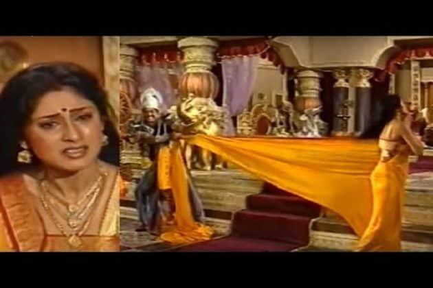 মহাভারতে দ্রৌপদীর বস্ত্রহরণের এপিসোড চোখে জল এনেছিল গোটা ভারতের, দেখে নিন আরেকবার--