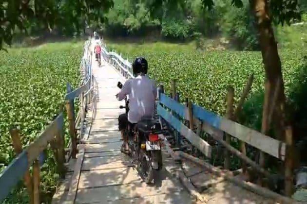 করোনা আতঙ্কে 'বন্ধ' সেতু, খুলে দিলেন গ্রামবাসীরাই, নজরদারির দাবি