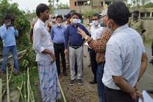 'ত্রাণ পাইনি,' কেন্দ্রীয় দলকে সামনে পেয়েই অভিযোগ মিনাখাঁর গ্রামবাসীদের