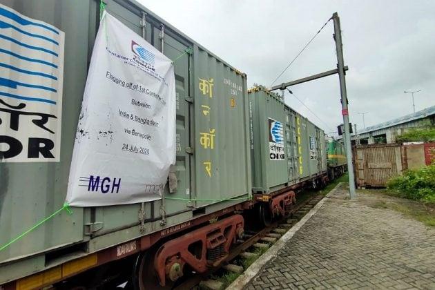 রেল পথে চালু এ বার চালু হল কলকাতা-বাংলাদেশ কন্টেনার পরিষেবা