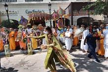 আগামী বছর ৫০তম রথযাত্রা হোক করোনা মুক্ত, উল্টোরথে ইস্কনে প্রার্থনা, পাশে নিখিলকে নিয়ে আরতি নুসরতের