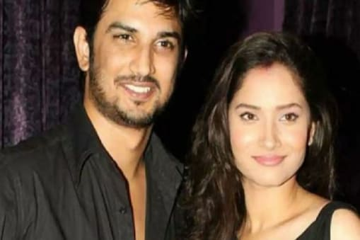 Ankita with Sushant in good days
