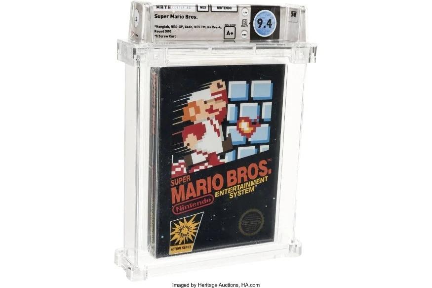 গত বছর Super Mario Bros গেমটির একটি কপি ১০০,১৫০ ডলার (প্রায় ৭৫,৩০,৬২৯) টাকায় বিক্রি হয়েছিল। মানে আগের থেকে প্রায় ১৪,০০০ ডলার (প্রায় ১০.৫ লক্ষ টাকা) বেশিতে বিক্রি হয়েছে।