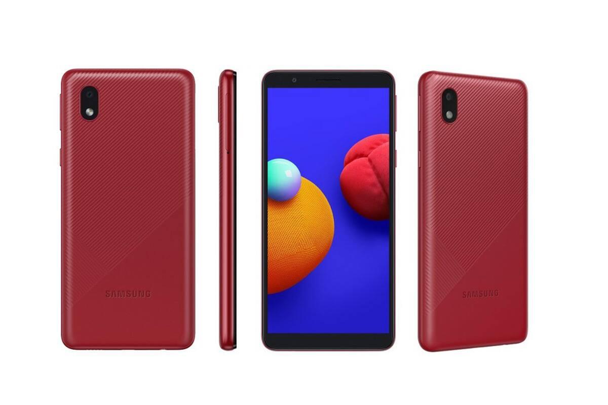 Samsung Galaxy M01 Core:এই ফোনে রয়েছে ৫.৩ ইঞ্চি ডিসপ্লে আর পাওয়ারের জন্য রয়েছে 3000 mAh এর ব্যাটারি। ফোনের ভিতরে রয়েছে ১.৫ গিগাহার্টজ কোয়াড কোর প্রসেসর, সঙ্গে ১জিবি র্যাম আর ১৬ জিবি ইন্টারনাল স্টোরেজ। মাইক্রোএসডি কার্ডের মাধ্যমে এর স্টোরেজ ৫১২ জিবি পর্যন্ত বাড়ানো যাবে। ছবি তোলার জন্য Galaxy M01 Core-এ রয়েছে ৮ মেগাপক্সেল রিয়ার ক্যামেরা আর সেলফির জন্য রয়েছে ৫ মেগাপক্সেল ক্যামেরা। ফোনটি দাম - ৫,৪৯৯ টাকা।