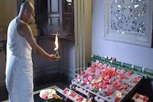 করোনা আবহে শুরু হল বেলুড় মঠের ২০২০ সালের দুর্গোৎসবের সূচনা