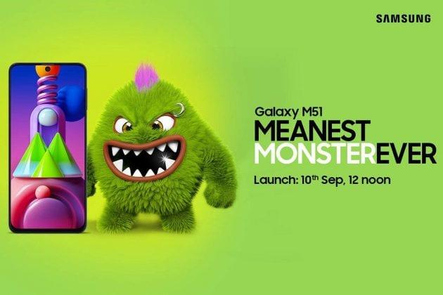 শক্তিশালী ব্যাটারি, 64MP ক্যামেরা-সহ ১০ সেপ্টেম্বর ভারতে আসছে Samsung Galaxy M51