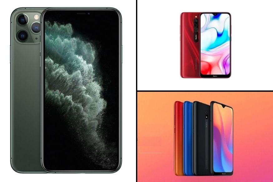 এদিকে অষ্টম নবম ও দশম স্থানে রয়েছে যথাক্রমে Xiaomi Redmi 8A, Xiaomi Redmi 8 এবং Apple iPhone 11 Pro।
