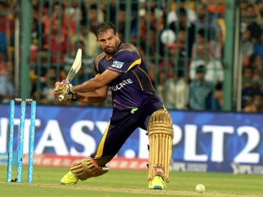 # 3.  Yusuf Pathan: Yusuf was one of the best all-rounders in KKR's 'Hitman'.  For KKR, he has scored 1893 runs in 106 matches (91 innings) at an average of 31.55 and a strike rate of 137.28.