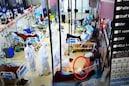 ICU-তে করোনা রোগীর পাশেই দাউদাউ করে জ্বলছে আগুন,পিপিই পরে ছুটছেন চিকিৎসক,নার্সরা