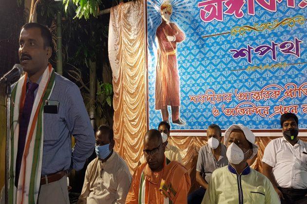 কোভিড যোদ্ধাদের সম্মান জ্ঞাপন, করোনা আবহে পথ দেখাচ্ছে কাশীপুরের 'অঙ্গীকার'
