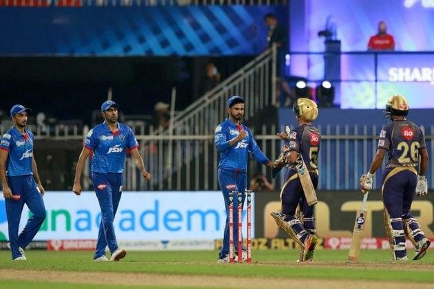 KKR vs DC: মর্গ্যান-ত্রিপাঠির মরিয়া লড়াই কাজে এল না, ১৮ রানে হার কেকেআরের