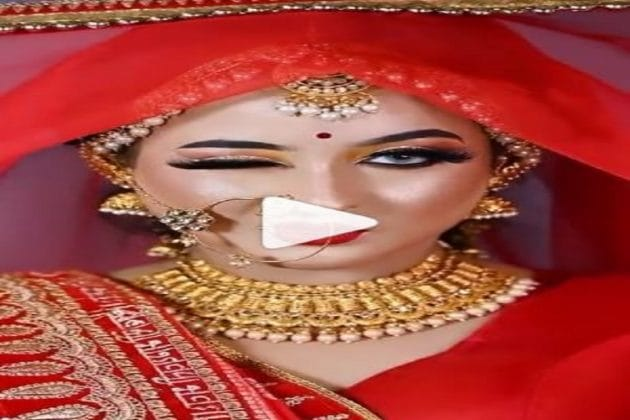 লাল টুকটুকে বিয়ের সাজেও বাদ গেল না 'টুম্পা সোনা'-র সঙ্গে দুরন্ত নাচ! দেখুন ভিডিও