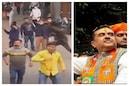 শুভেন্দুর রোড শোয়ে ইটবৃষ্টি, পাল্টা বাইক ভাঙচুর! উত্তপ্ত চারু মার্কেট